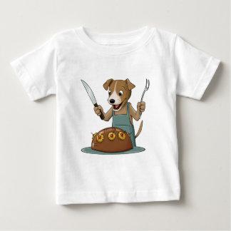 犬のシェフ ベビーTシャツ