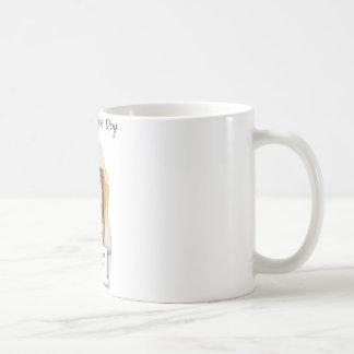 犬のバセットハウンドに恥をかかせること コーヒーマグカップ