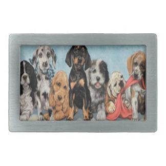 犬のベルトの留め金 長方形ベルトバックル