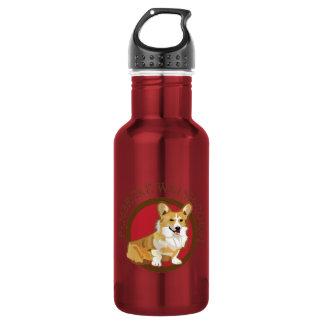 犬のペンブロークのウェルシュコーギー ウォーターボトル