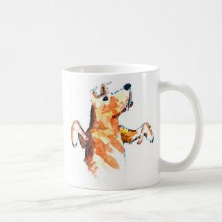 犬のマグのための親指 コーヒーマグカップ
