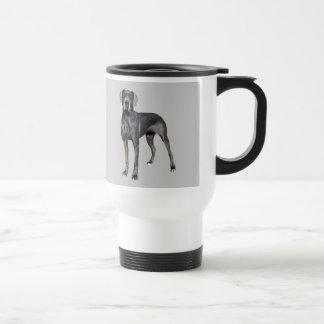 犬のマグのグレートデーン王 トラベルマグ