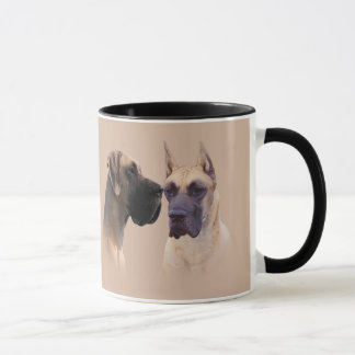 犬のマグのグレートデーン王 マグカップ