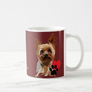 犬のマグ: それはヨークシャーテリアです コーヒーマグカップ