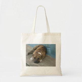 犬のリラックス トートバッグ