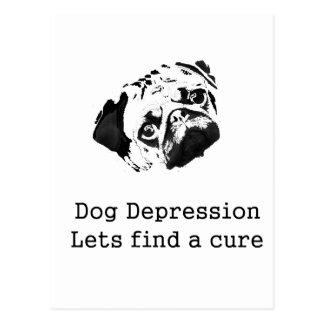 犬の不況 ポストカード