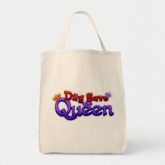 犬の保存女王 トートバッグ
