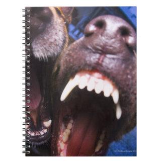 犬の吠えること ノートブック