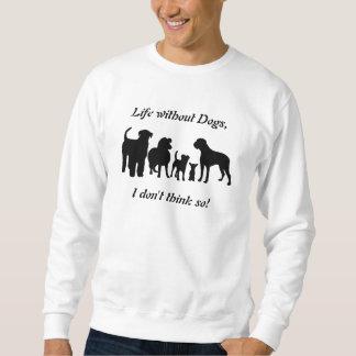 犬の品種グループのシルエットのユニセックスなスエットシャツ スウェットシャツ