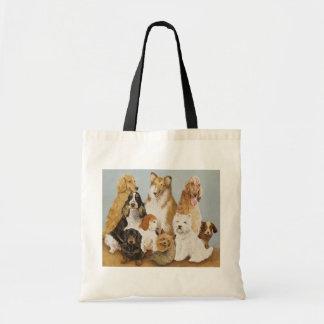 犬の夕食 トートバッグ
