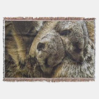 犬の山の睡眠のベビーMeerkats スローブランケット