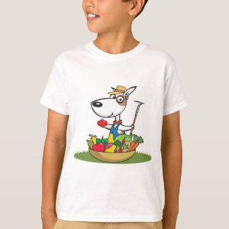 犬の庭師 Tシャツ