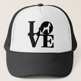 犬の恋人のトラック運転手の帽子 キャップ