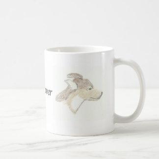 犬の恋人のマグ コーヒーマグカップ