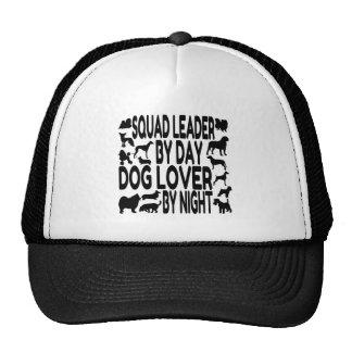 犬の恋人の分隊のリーダー トラッカーキャップ