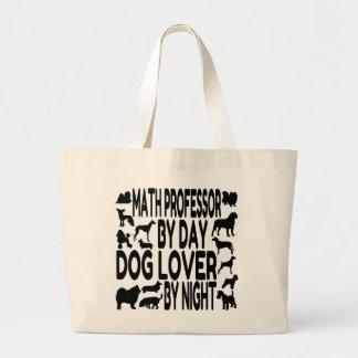 犬の恋人の数学教授 ラージトートバッグ