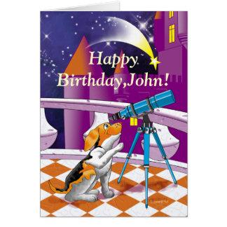 犬の望遠鏡 カード