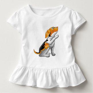 犬の望遠鏡 トドラーTシャツ