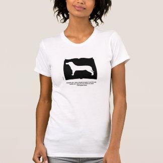 犬の本の引用文のTシャツ Tシャツ