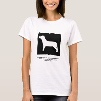 犬の本のGrouchoの引用文 Tシャツ