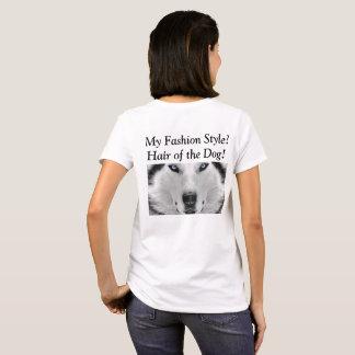 犬の毛! Tシャツ
