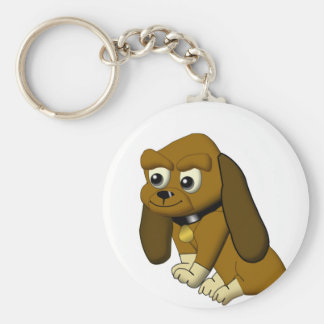 犬の漫画のアニメのビーグル犬 キーホルダー