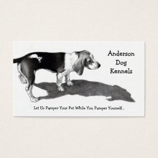 犬の犬小屋: ファインアート: 名刺