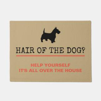 犬の玄関マットの毛 ドアマット