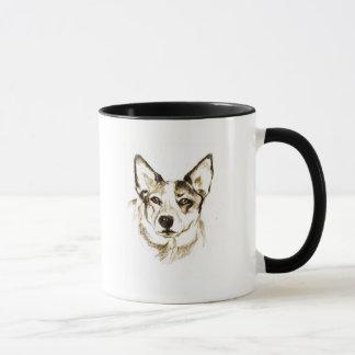 犬の目の知恵、マグ マグカップ