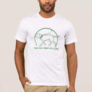 犬の目覚めること Tシャツ