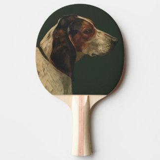 犬の絵を含む卓球ラケット 卓球ラケット