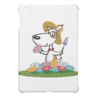 犬の花の庭師 iPad MINI カバー