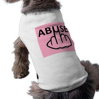 犬の衣類の乱用はひどいです ペット服