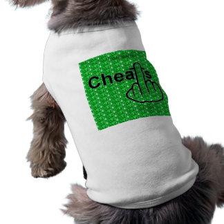犬の衣類の詐欺フリップ ペット服