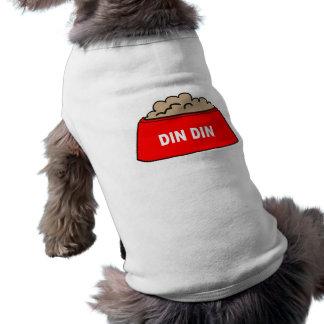 犬の衣類の食糧ボールの赤い喧騒の喧騒 ペット服