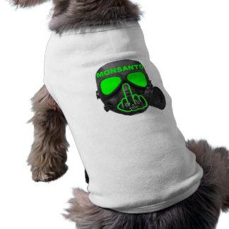 犬の衣類のMonsantoのガスマスクフリップ ペット服