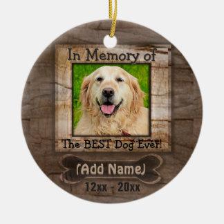 犬の記念物 セラミックオーナメント