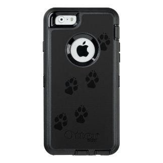 犬の足のプリント オッターボックスディフェンダーiPhoneケース