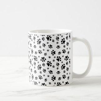 犬の足パターン コーヒーマグカップ