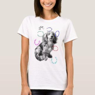 犬の辞書: 愛 Tシャツ