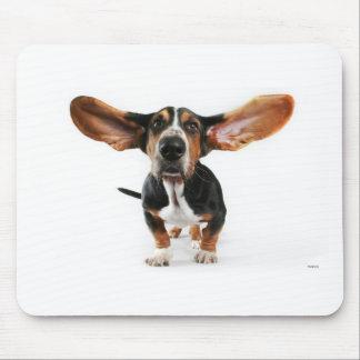 犬の長い耳 マウスパッド