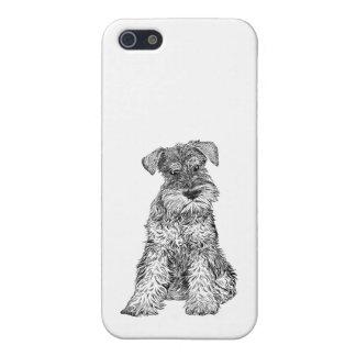 犬の電話箱5/5sのシュナウツァー iPhone 5 cover
