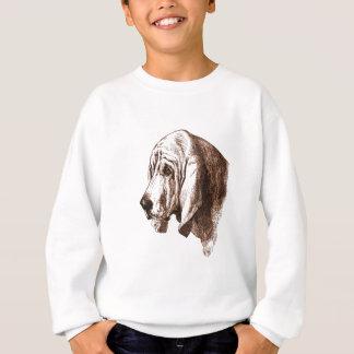犬の顔 スウェットシャツ