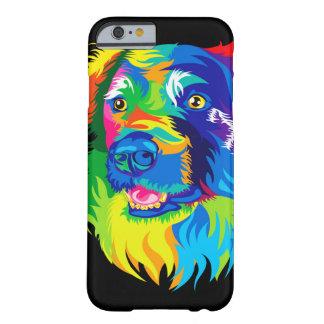 犬の黒 BARELY THERE iPhone 6 ケース