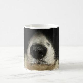 犬の鼻の終わり コーヒーマグカップ