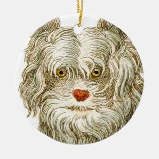 犬のbuffonの芸術のギフトセット セラミックオーナメント