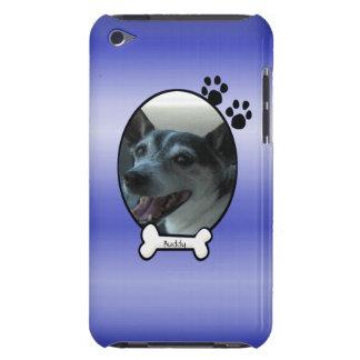 犬のiPodの青くカスタマイズ可能な箱 Case-Mate iPod Touch ケース