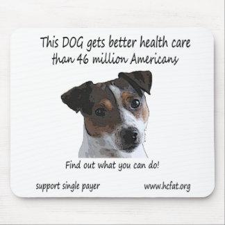 犬はよりよいヘルスケアを得ます マウスパッド