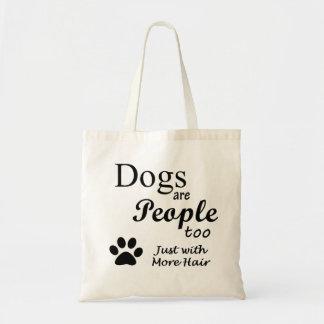 犬は人々の余りにトートバックです トートバッグ
