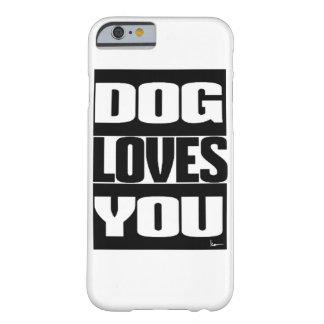 犬は愛します BARELY THERE iPhone 6 ケース